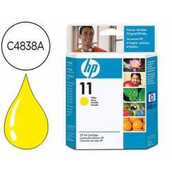 Cartucho HP 11 Amarillo C4838A