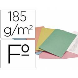 """Subcarpeta Cartulina Tamaño Folio Liderpapel Colores Surtidos """"no se pueden elegir """" 185 gr"""