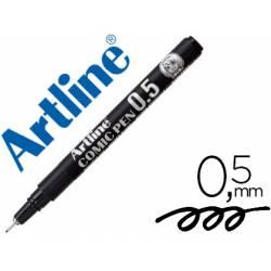 Rotulador Negro Artline EK-2805 Calibrado Micrométrico 0,5 mm