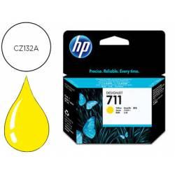 Cartucho Ink-Jet HP 711 amarillo 29 ml