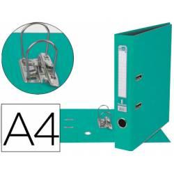 Archivador de palanca Liderpapel A4 verde claro compresor metalico