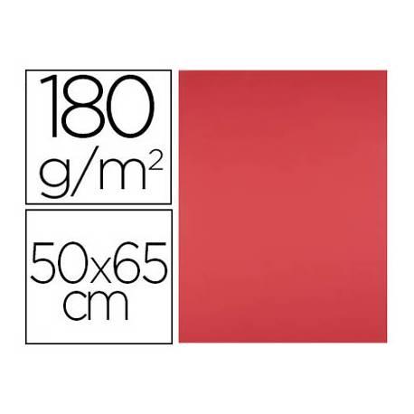 Cartulina Color Rojo Liderpapel 50x65 cm 185 gr