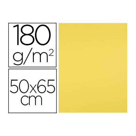 Cartulina Liderpapel Amarillo Limon 25 unidades