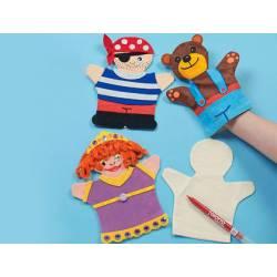 Marioneta Textil para niños color blanco itKrea