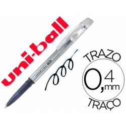 Bolígrafo Borrable roller gel UF-220 color negro 0,4 mm