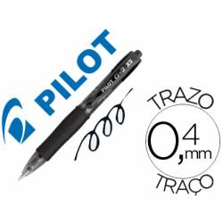 Boligrafo Pilot G-2 XS Color Negro 0,4 mm Pixie