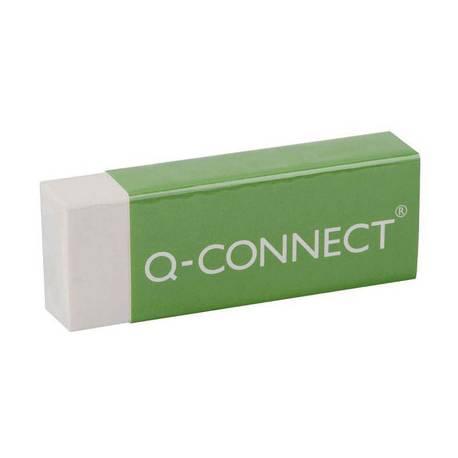 Goma Q-connect plastica escolar