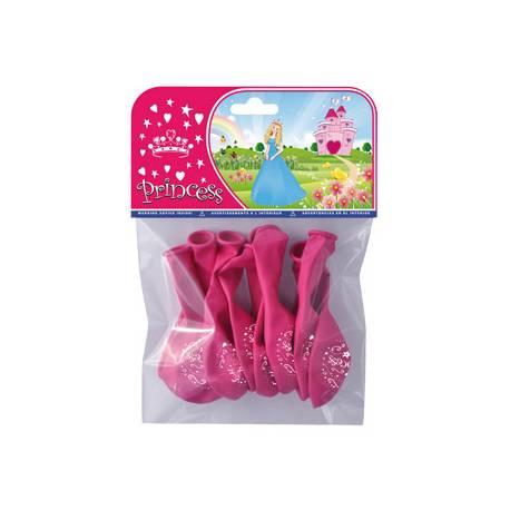 Globos Princesas bolsa de 8 unidades