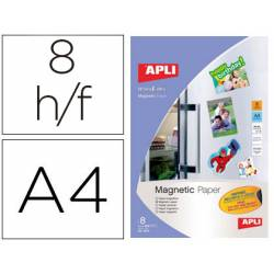 Papel magnetico Apli blanco Din A4