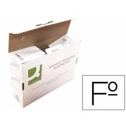 Caja archivo definitivo Q-connect folio cierre con lenguetas