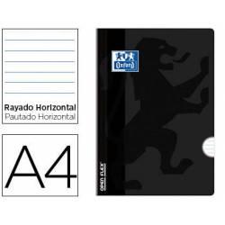 Libreta Escolar Oxford A4 48 hojas Rayado horizontal Negro