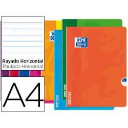 Libreta Escolar Oxford A4 48 hojas Rayado horizontal Colores Surtidos