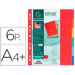 Separadores cartulina Exacompta Din A4+ juego de 6