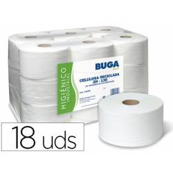 Papel higienico Buga 2 capas reciclado
