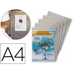 Funda presentacion Tarifold magnetica Din A4 pack de 5