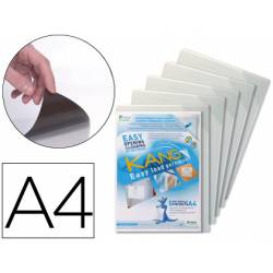 Funda presentacion Tarifold adhesiva permanente Din A4 pack de 5