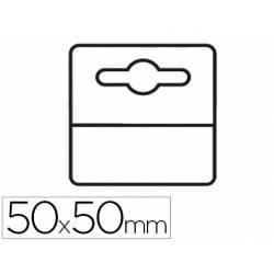 Etiqueta colgador adhesiva 3l office en pvc pack de 1000 unidades