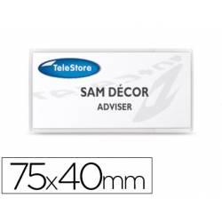 Identificador adhesivo textil 3loffice