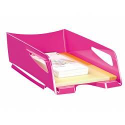 Bandeja sobremesa plastico Cep maxi rosa