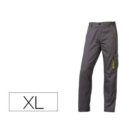 Pantalón trabajo DeltaPlus gris talla XL
