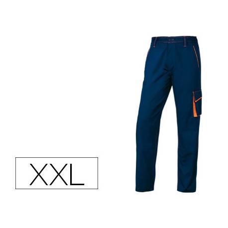 Pantalón trabajo DeltaPlus azul talla XXL
