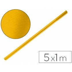 Bobina papel kraft Liderpapel 5 x 1 m amarillo oro