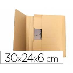 Caja para embalar Libros 30x24x6Cm. Marca Q-Connect