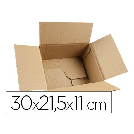 Caja para embalar Q-Connect 30x21,5x11 Cm