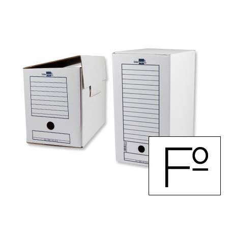 Cajas de archivo definitivo Liderpapel carton 367x251x200 mm