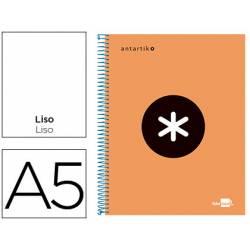 Bloc Espiral Liderpapel A5 Antartik naranja 120 hojas