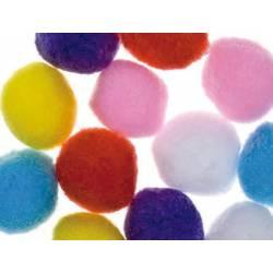 Pompones 50 mm Colores Surtidos marca itKrea