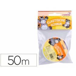 Cordon elastico transparente 50 mt marca itKrea