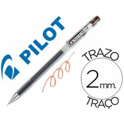 Boligrafo marca Pilot punta aguja 0,2 mm g-tec-c4 sepia