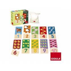 Puzzle a partir de 2 años Duo 1-10 marca Goula
