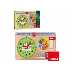Juego educativo a partir de 3 años Reloj calendario Goula