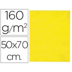 Fieltro Liderpapel 50 x 70 cm amarillo