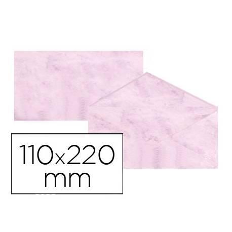 Sobre marmoleado Michel fantasia rosa 25 sobres