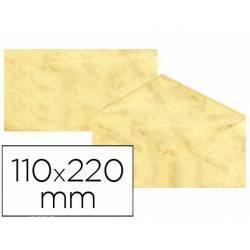 Sobre marmoleado Michel fantasia amarillo 25 sobres