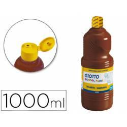 Tempera liquida Giotto marron 1000 cc