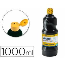 Tempera liquida Giotto negro 1000 cc
