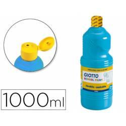 Tempera liquida Giotto cyan 1000 cc
