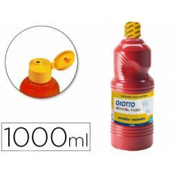 Tempera liquida Giotto rojo escarlata 1000 cc