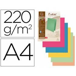 Subcarpeta Exacompta Foldyne din A4 250 gr pack de 100 colores surtidos vivos