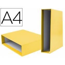 Caja archivador Liderpapel de palanca Din A4 documenta Amarillo