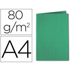 Subcarpeta Exacompta din A4 verde oscuro 80 g/m2