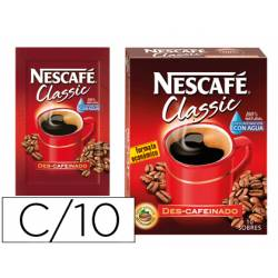 Cafe Nescafe Descafeinado 10 sobres