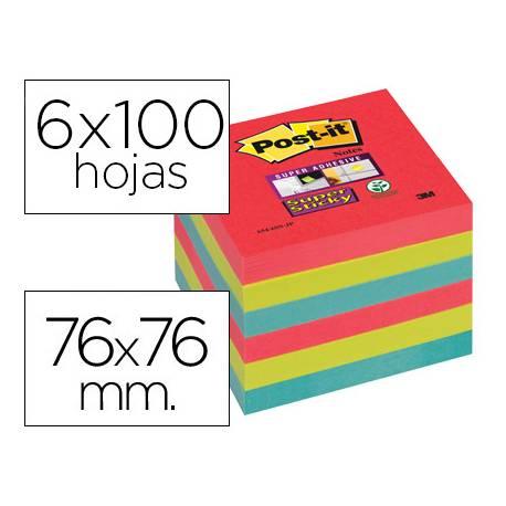 Post-it ® Bloc notas quita y pon 76 x 76 mm