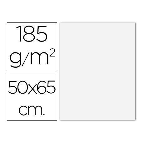 Cartulina Guarro blanco 500 x 650 mm 185 g/m2