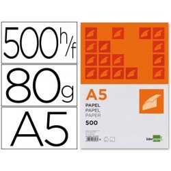 Papel Din A5 Liderpapel 80 g/m2