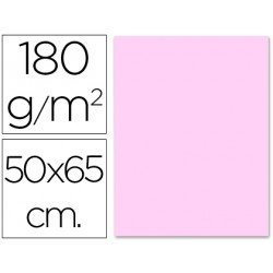 Cartulina Liderpapel rosa 180 g/m2
